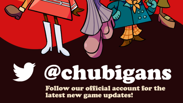 Follow @chubigans for the latest in games and new title updates!